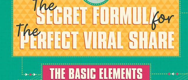 Secret Formula for the Viral Share: Infographic!!!